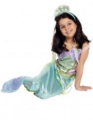 Plaskande prinsessa - Sjöjungfrudräkt för barn