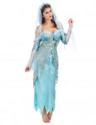 Turkos sjöjungfru - Maskeradkläder för vuxna