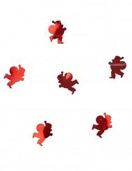 Röda julgubbskonfettin 10 g