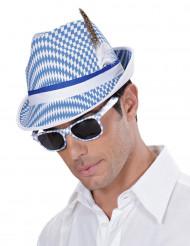 Vita och blå glasögon vuxen Ölfest
