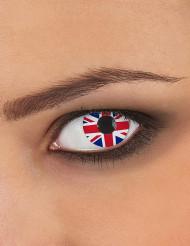 Brittiska linser för vuxen - Maskeradsminkning