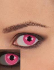 Rosa UV kontaktlinser vuxen