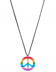 Färggrant hippie-halsband