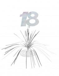 Bordsdekoration till 18-årsfesten