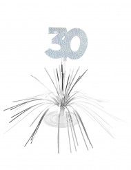 Bordsdekoration 30-årsjubileum