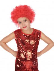 Röd discoperuk barn