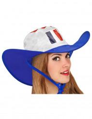 Cowboyhatt sportsfan Frankrike