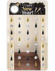 Dörrdekoration Happy New Year