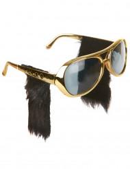 Solglasögon för rockare med polisonger