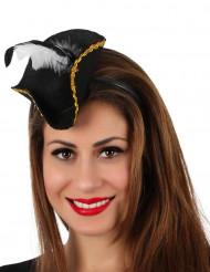 Diadem minihatt pirat
