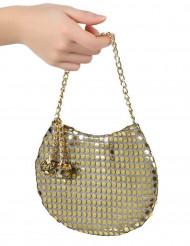 Handväska  Disco  guld