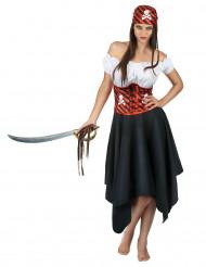 Hänsynslösa Heidi - Piratklänning för vuxna