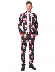 Blodig dödskalle kostym Suitmeister™ man Halloween