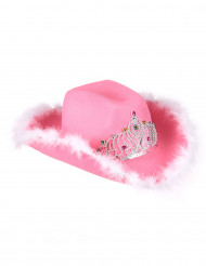 Cowgirl hatt Rosa