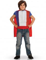 Superhjälte i de franska färgerna Barn