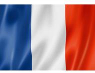 Franska flaggan 90 x 60 cm