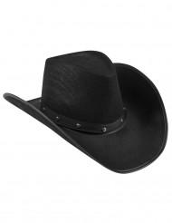Cowboyhatt Svart