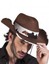 Cowboyhatt Kofläckad