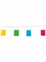 Slinga med 8 färgade lyktor