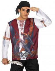 Pirat t-skjorta vuxen