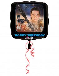 Happy Birthday med Star Wars™ - Aluminium Ballong