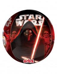 aluminium ballong av karaktärerna i Star Wars VII ™ 38 x 40 cm