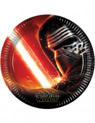 8 Tallrikar Star Wars VII™ 22 cm