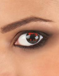 Kontaktlinser Sårat svart öga Halloween
