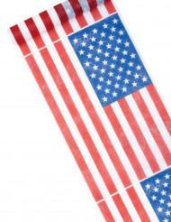Löpare för bordet med tryck av USA tryck