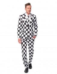 Suitsmeister™ Svartvit Kostym Man