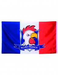 Fransk supporterflagga - 90 x 150 cm