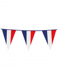 Vimpelgirland med frankrikesflagga 10m
