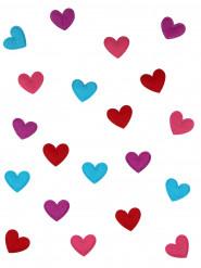 20 hjärtformade bordskonfetti