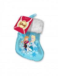 Liten julstrumpa i Frost™-tema
