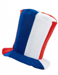 Hög supporterhatt med musik Frankrike