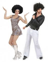 Klassiskt discopar - Pardräkt för vuxna