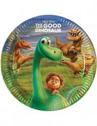 8 kartongtallrikar från Den gode dinosaurien™