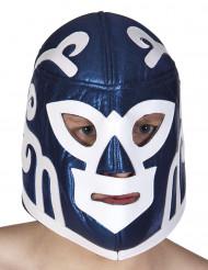 Blå Wrestlingmask Vuxen