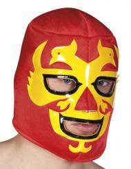 Röd Wrestlingmask Vuxen