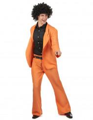 Orange Disco - utklädnad vuxen