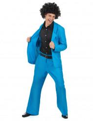 Blå Disco - utklädnad vuxen