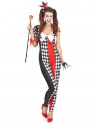 Kvinnlig joker-kostym