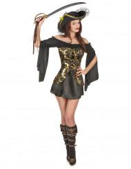 Elegant pirat - utklädnad vuxen