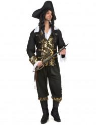 Kapten Guldtand - Piratdräkt för vuxna