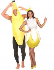 Herr & Fru Banan - Pardräkt Vuxna