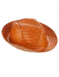 Orange Panamahatt Vuxen