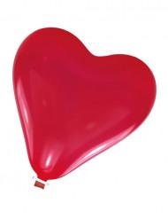 Enorm latexballong i form av ett hjärta 61 cm