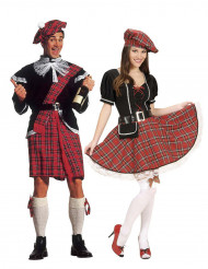 Skotsk pardräkt vuxen