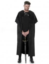 Fodrad mantel för vuxna till maskeraden