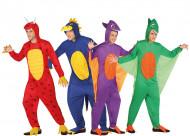 En Grupp Dinosaurier - Gruppdräkt för vuxna